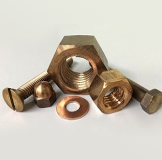 Copper Nuts And Bolts >> Copper Bolts Copper Screws Copper Fasteners Manufacturer India