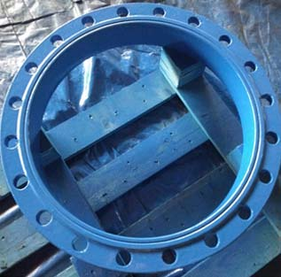Epoxy Coated ASTM A105 Flange