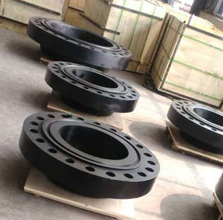 24 Inch SCH 80 Epoxy Coated ASTM A105N Weld Neck Flange