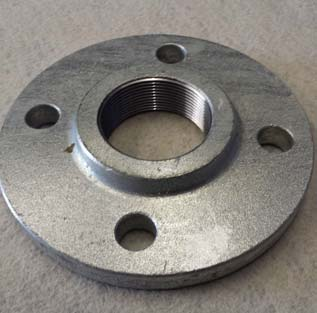 ASTM A182 Galvanized Thread Flange