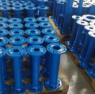 Epoxy Coated Ductile Iron Pipe Flange