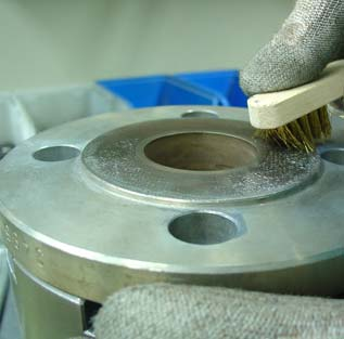 Flat Face Flange Coating
