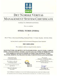 OHSAS 14001 Certified