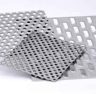 310 Perforated Stainless Steel Sheet