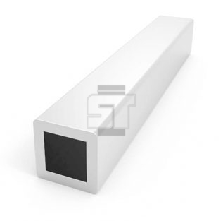 Stainless Steel Square Pipe (Radius Corners)