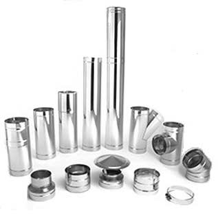 304L Stainless Steel Flue Pipe